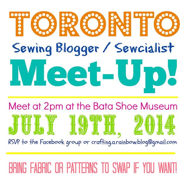 Toronto Sewcialist Meetup, Summer 2014