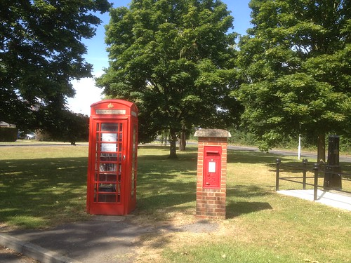Galleywood Telephone Box Book Exchange