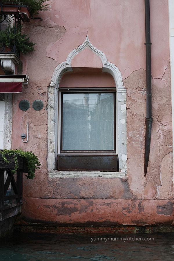 Venice Italy window