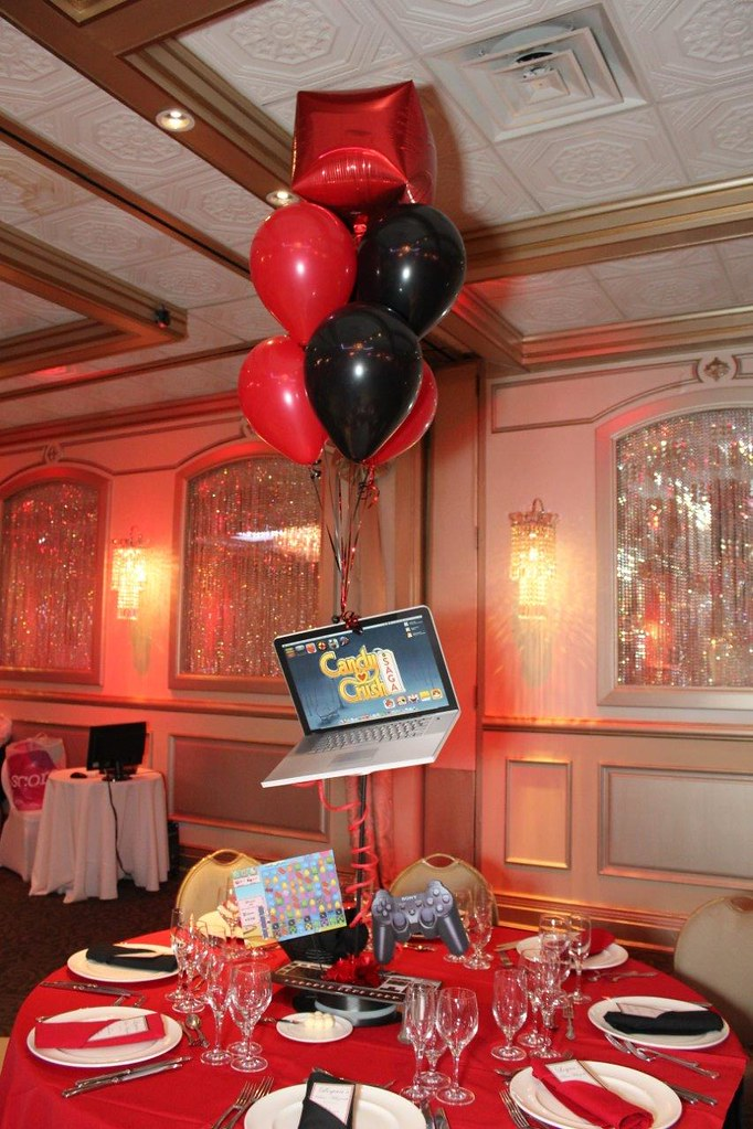 Balloon centerpieces nj themed life o