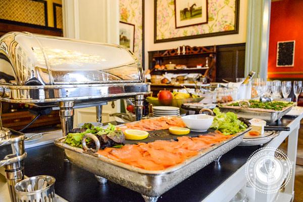 Champagne Breakfast Hotel Heritage Bruges Belgium