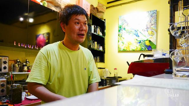 [新竹 東區]–中年轉行,草根性的自家烘焙咖啡–鐵道87號咖啡館