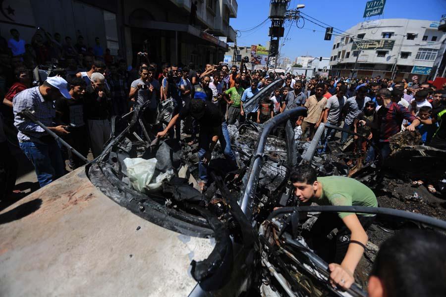 (10)MEDIO ORIENTE-GAZA-SEGURIDAD-CONFLICTO