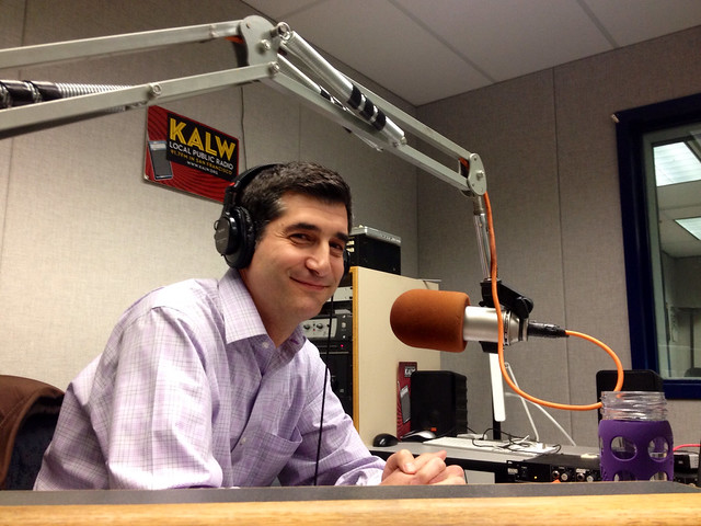 "KALW ""City Visions"" host David Onek"