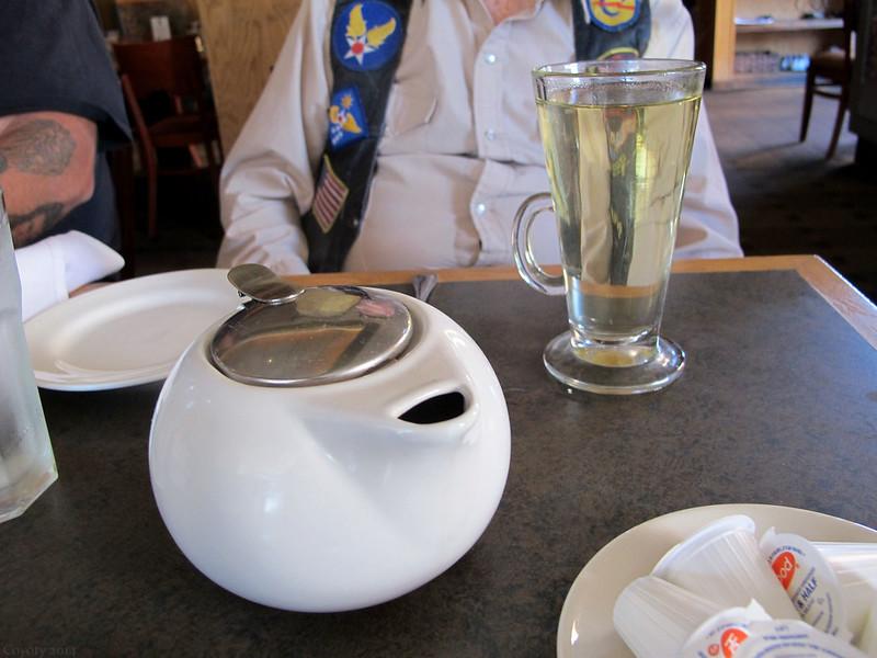 Dad's green tea