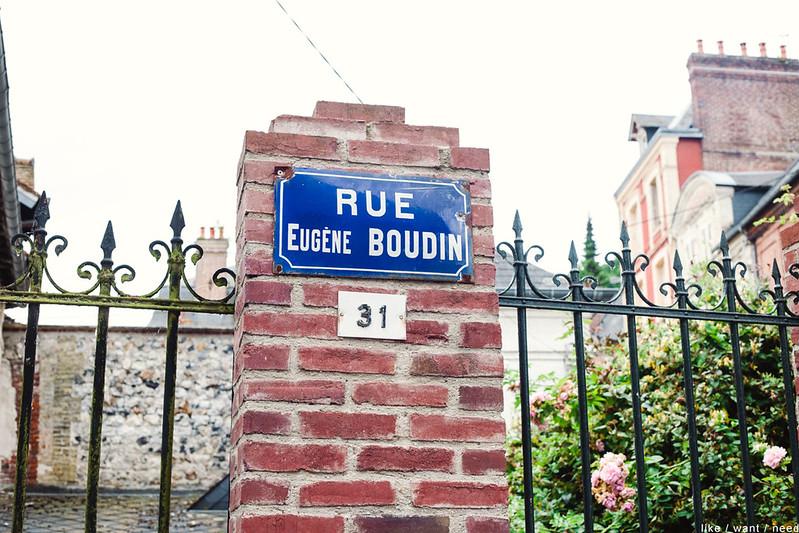 Rue Eugène Boudin, Honfleur
