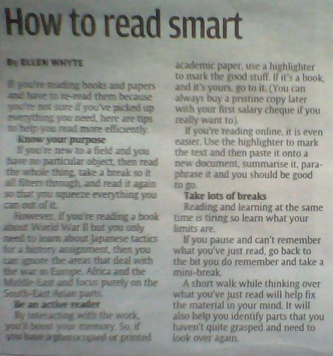 How To Read Smart