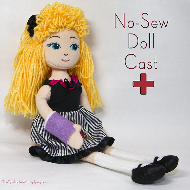 No-Sew Doll Cast