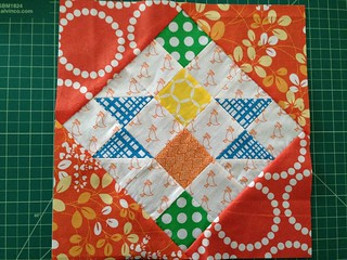 September Block from Bloggers BOM