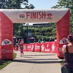 LifeTime Kids Triathlon - Finish