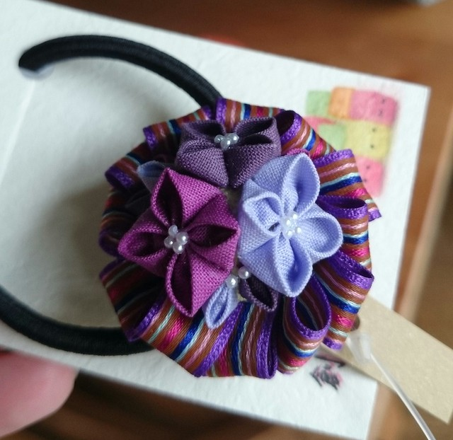kanzashi hair band