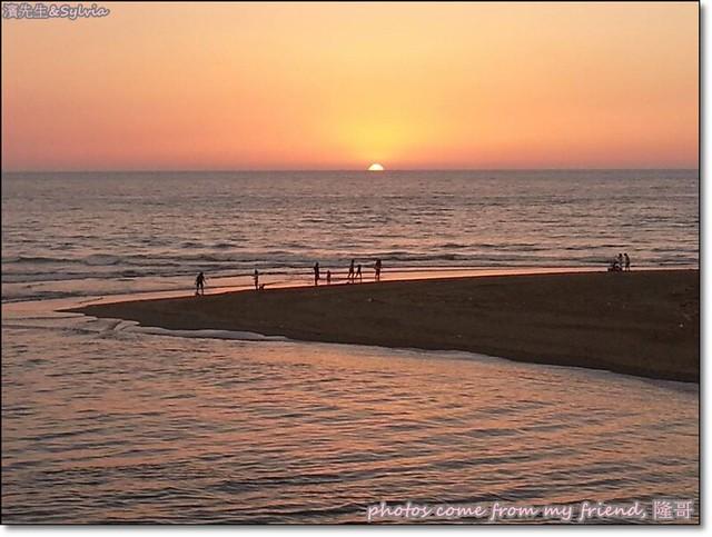 龍鳳漁港夕陽3-前同事隆哥拍攝