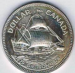 1979 Canadian Griffon dollar