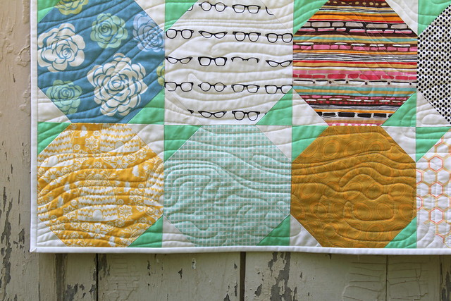 Snowball Quilt Tutorial - Finished Quilt Pic 4