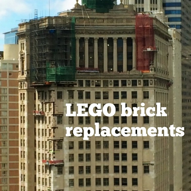 LEGO brick replacements