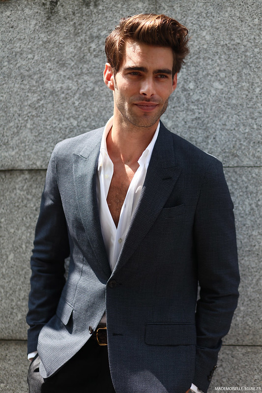 Jon Kortajarena at Paris Fashion Week menswear day 2