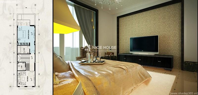 Thiết kế nội thất nhà anh Lý - Hà Đông_08