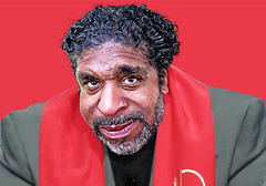 Rev. Dr. William Barber - Caricature