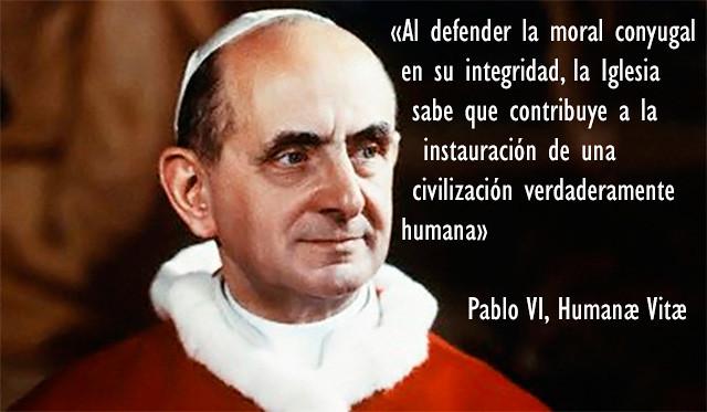 Humanae Vitae. 46º aniversario. Apostasía y profecía