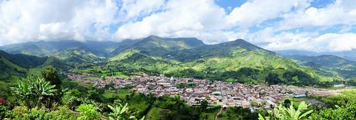 panorama landscape colombia jardin antioquia 2014 x100s fujifilmx100s