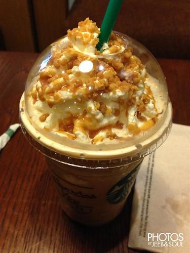 Starbucks Caramel Crunch