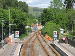 Garve level crossing upgrade works