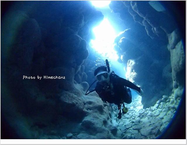 初めての洞窟~
