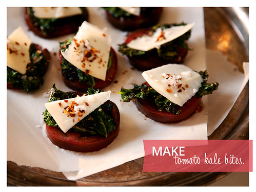 Make: Tomato Kale Bites