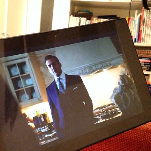 Xperia Z2 Tabletにて、SUITS シーズン2を観る。 #Xperiaアンバサダー #hulu