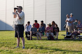 Watching Aircraft Arrive at Become a Pilot Day 2014