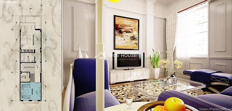 Thiết kế nội thất nhà anh Lý - Hà Đông_11