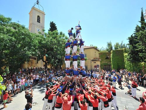 Diada castellera-Memorial David Carreras
