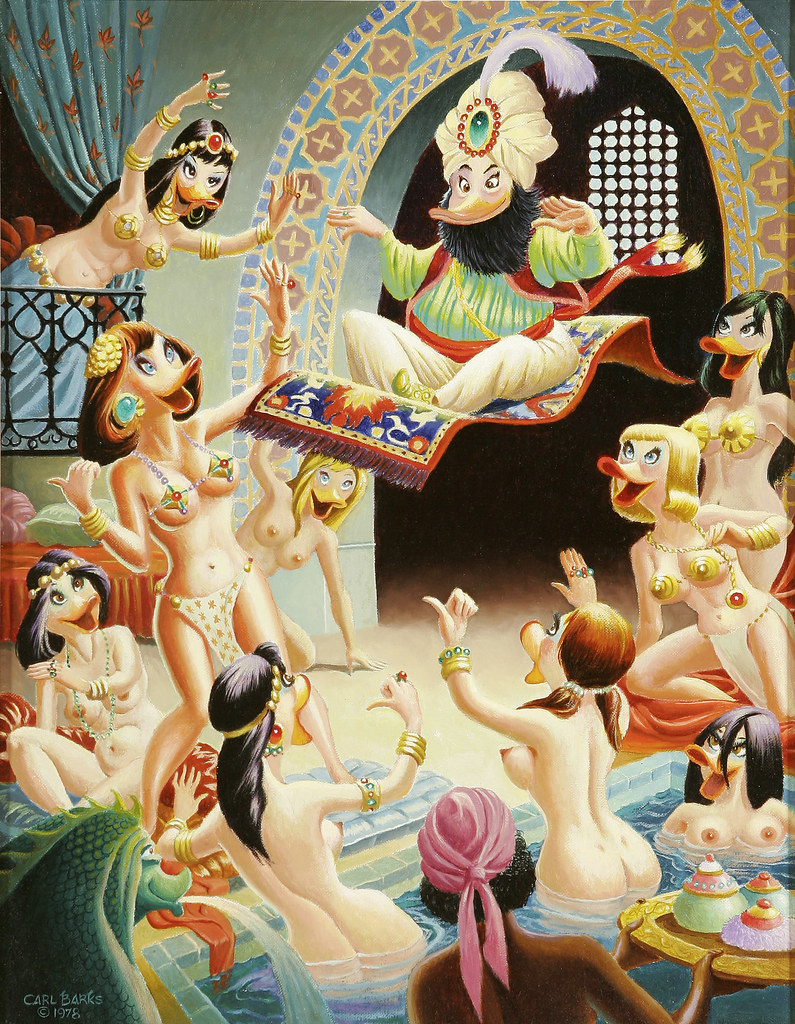 Carl Barks - The Caliph of Bagdad, 1978