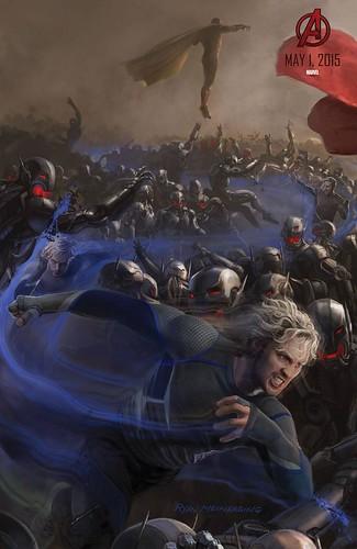 140728(2) - 2015年電影《Avengers: Age of Ultron》(復仇者聯盟2:奧創紀元)9大超級英雄合體海報出爐、台灣4/22隆重上映! 6