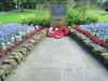 War Memorial, Calder Holmes Park, Hebden Bridge, Calderdale, West Yorkshire