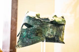 Bronze helmet of Miltiades to Zeus