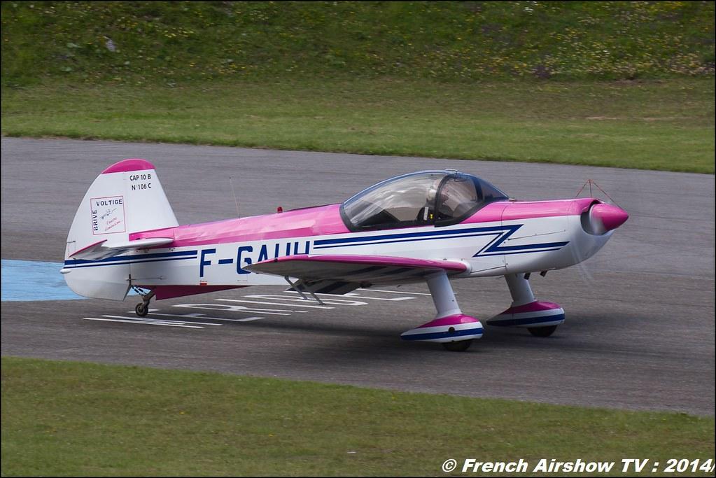 CAP-10 Georges Muzergues ,F-GAUH meribel airshow 2014