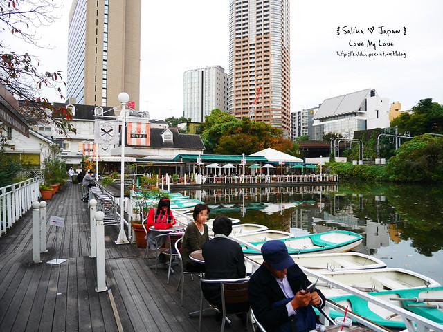 日本東京自由行賞櫻canal cafe水上餐廳 (4)