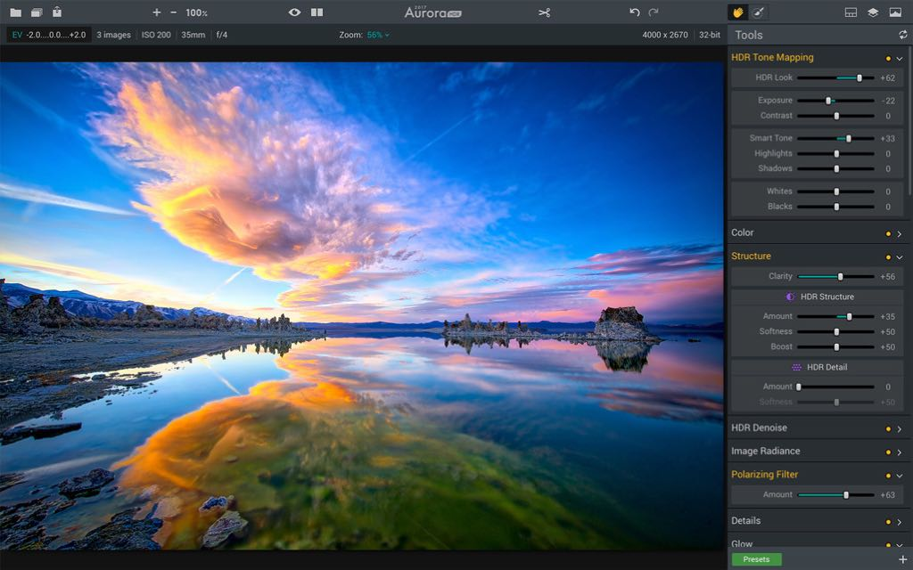 Aurora HDR 2019 1.0.0 – Advanced HDR software | macOS | NMac Ked