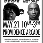East Coast vs West Coast Brunch @rogueisland #beer #taphunter #craftbeer #hiphop #dj #brunch #makeyourreservation