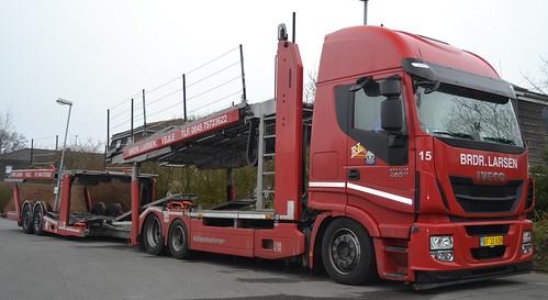 Iveco Stralis 460 E6 - Brdr. Larsen Transport  Vejle - Nr15 - DK  BF 10 638