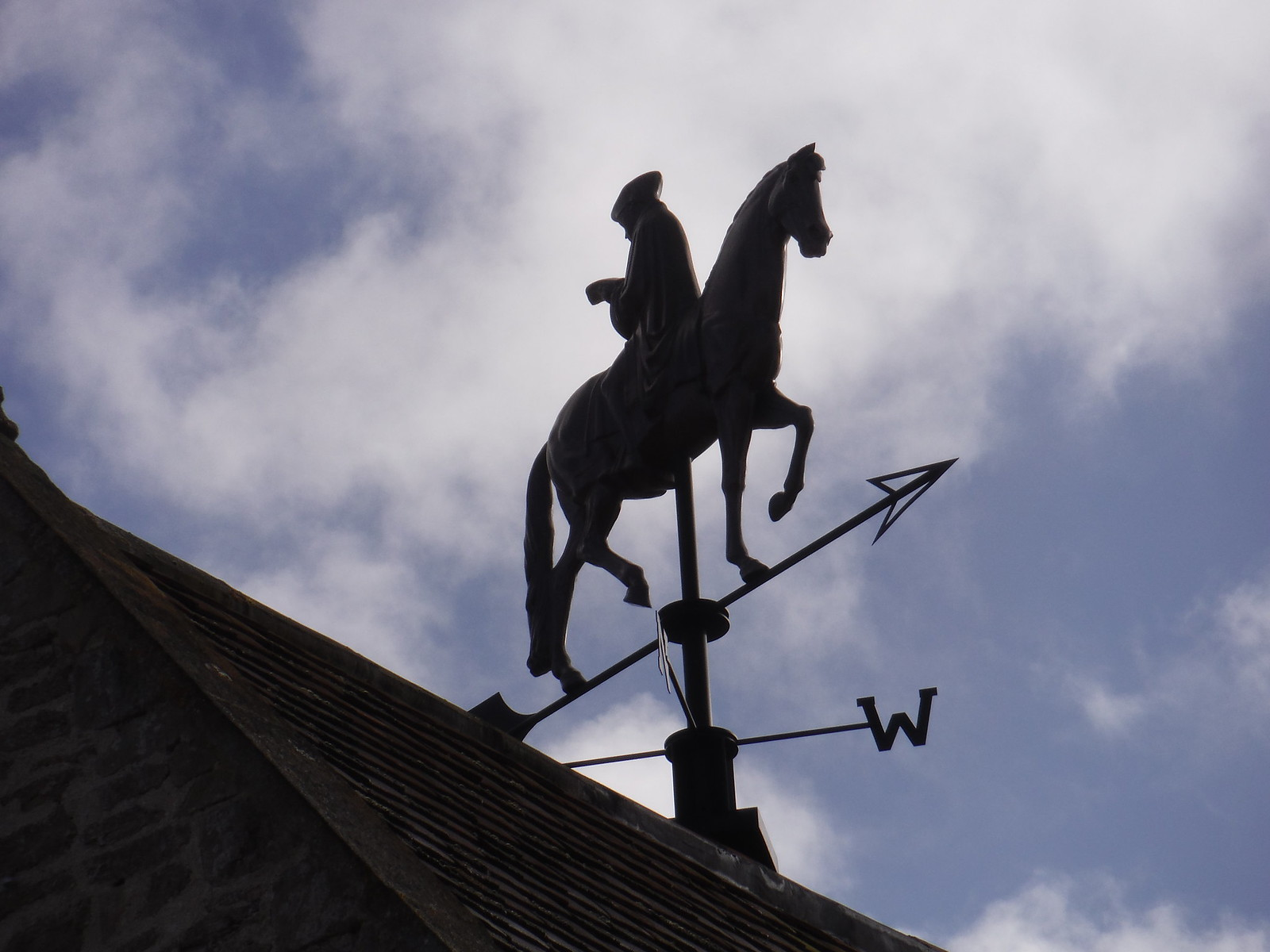 Rodney Graham - Weathervane (2007), Hauser & Wirth Somerset, Durslade Farm, Bruton SWC Walk 284 Bruton Circular (via Hauser & Wirth Somerset) or from Castle Cary