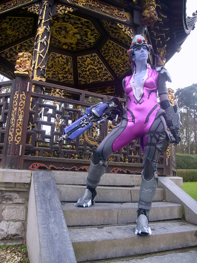 related image - Shooting Fatale - Overwatch - Enaelle's Arts - Bruxelles -2017-03-03- P2010052