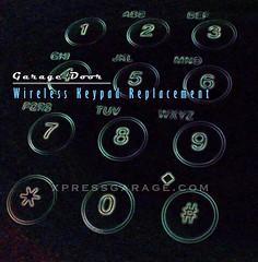 Burbank-garage-door-wireless-keypad-replacement