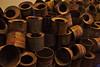 Empty Zyklon B cans