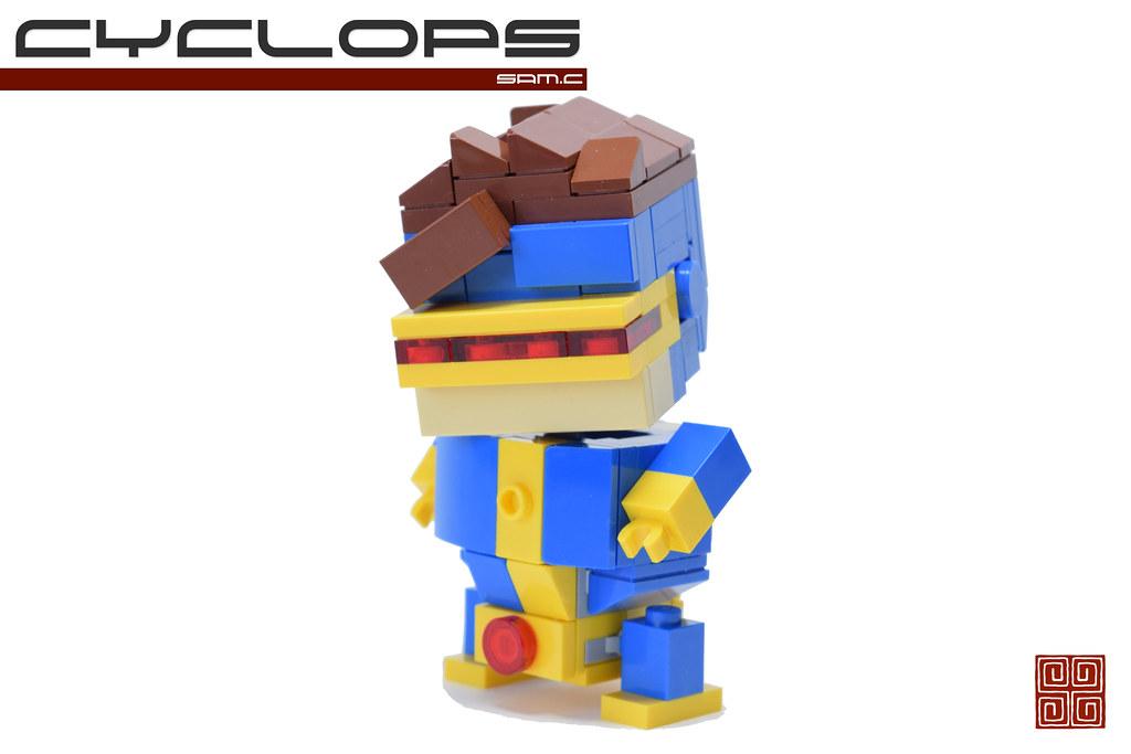 Cyclops (custom built Lego model)