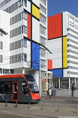 Den Haag - HTM Avenio & Mondriaan, 22-03-2017