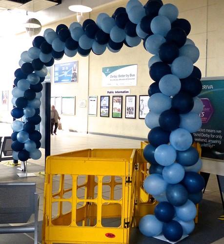 Ilkeston Flyer balloons