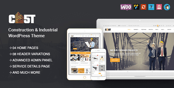 CAST WordPress Theme free download