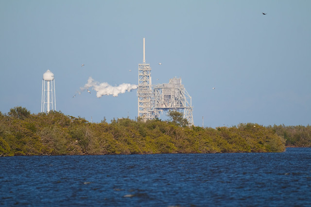 LC-39A with Falcon 9